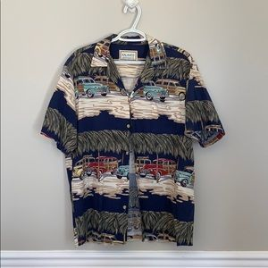 Men's Kalaheo Hawaiian style shirt